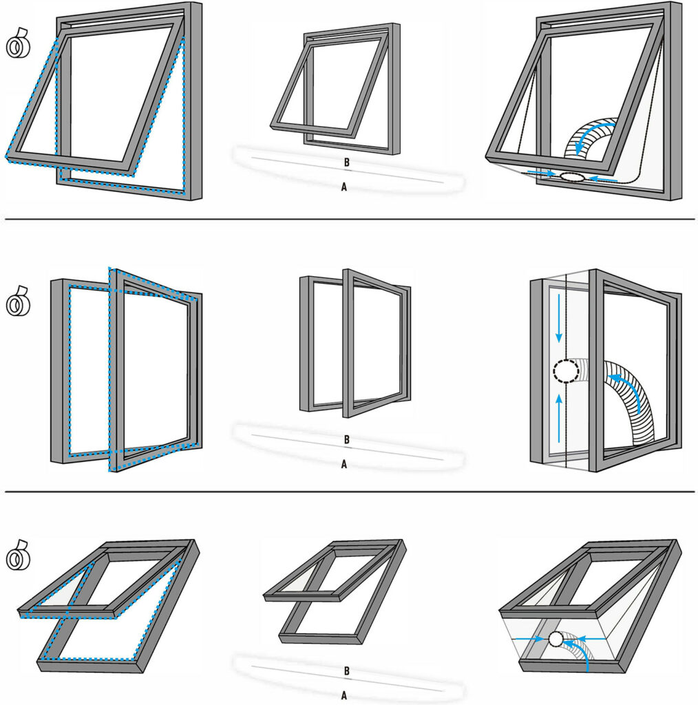hoe werkt afdichting met zijraam kantelraam skylight