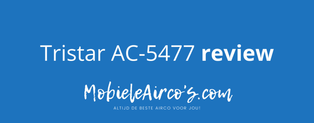 Tristar AC-5477 review