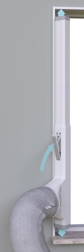 AEG Fensterabdichtung