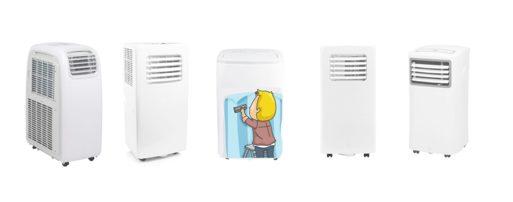 mobile klimaanlage installieren