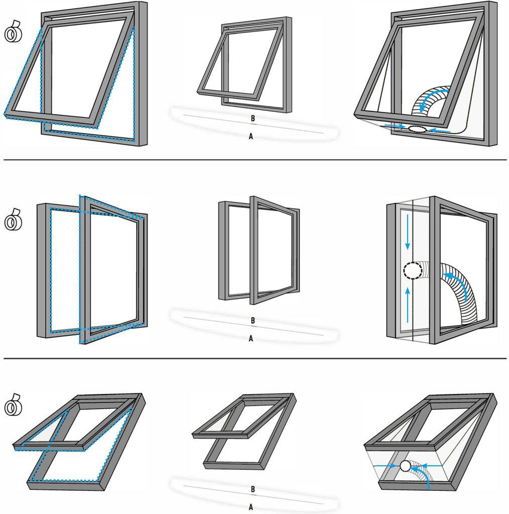 welche Fensterabdichtung mit welcher Fenster