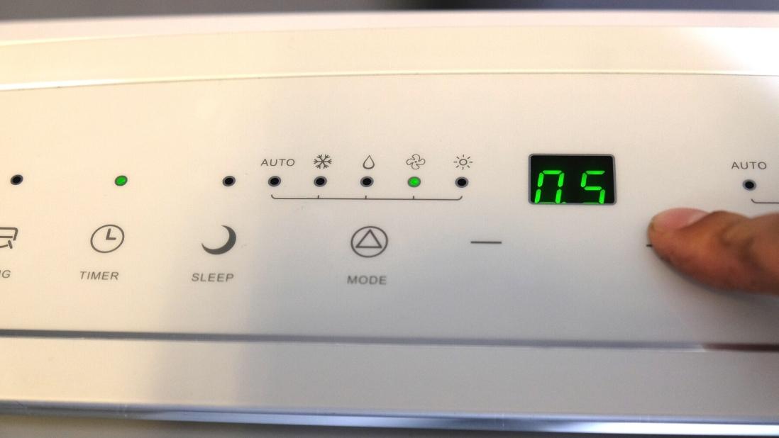timer instellen comfort line airco